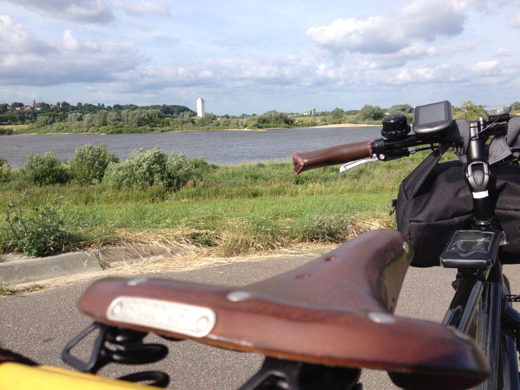 Nur ein paar Kilometer die Elbe rauf