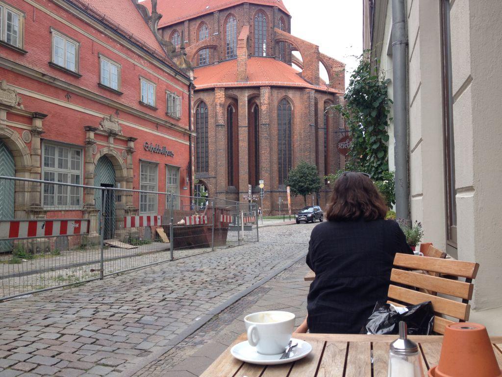 Kaffee und Kirchen