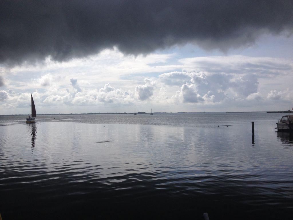 Der Hafen von Hiddensee