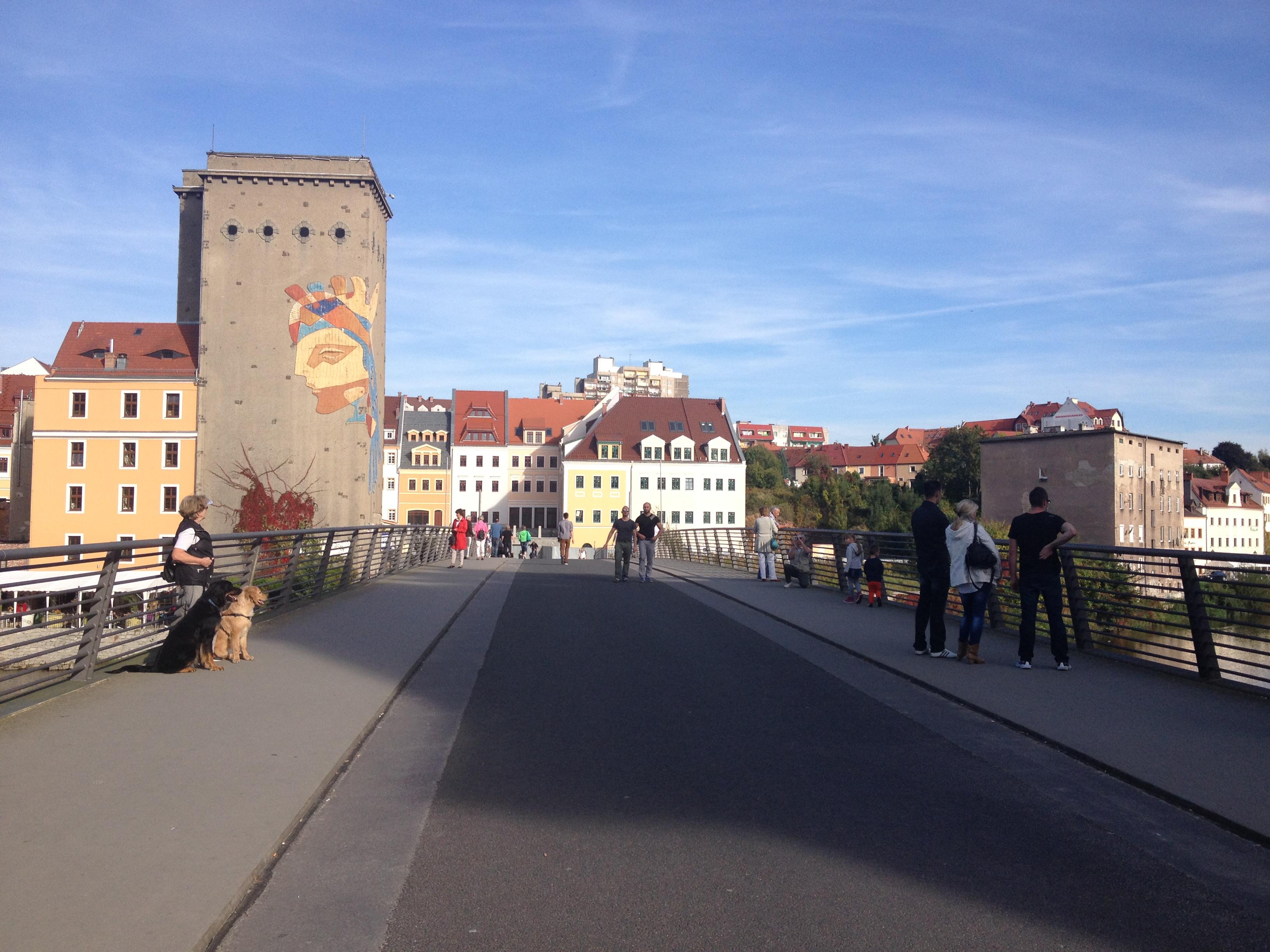 Brücke nach Polen in Görlitz