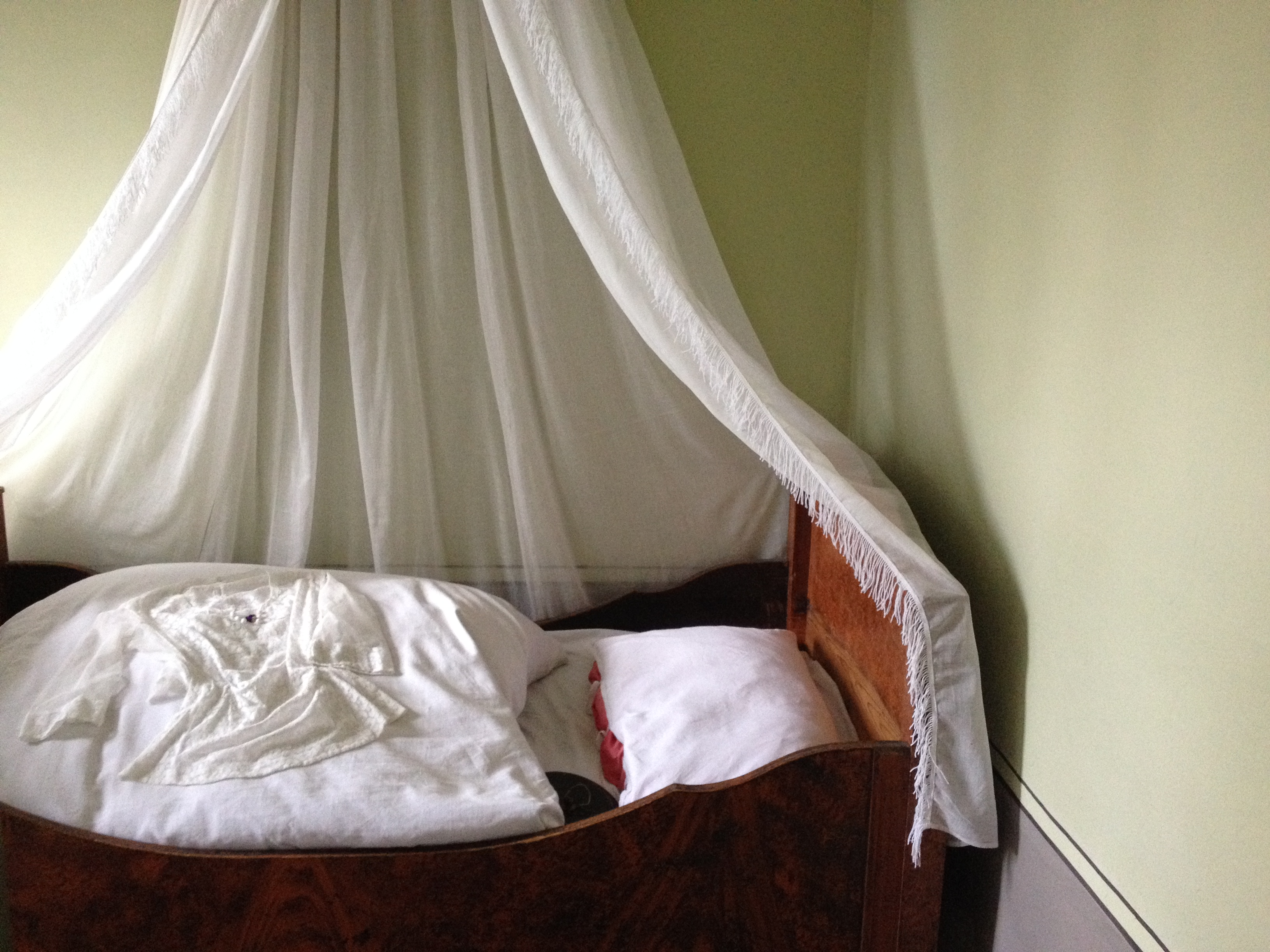 Die Betten waren so klein,