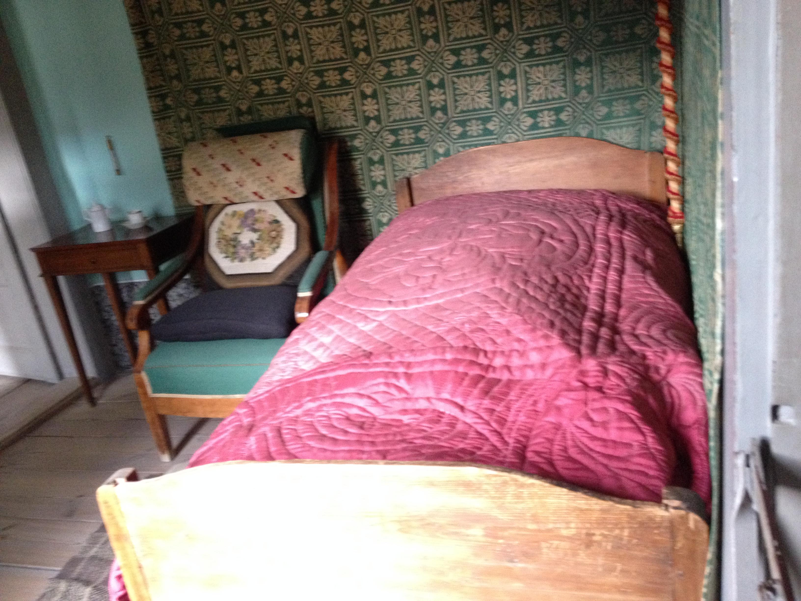 Hier schlief Goethe