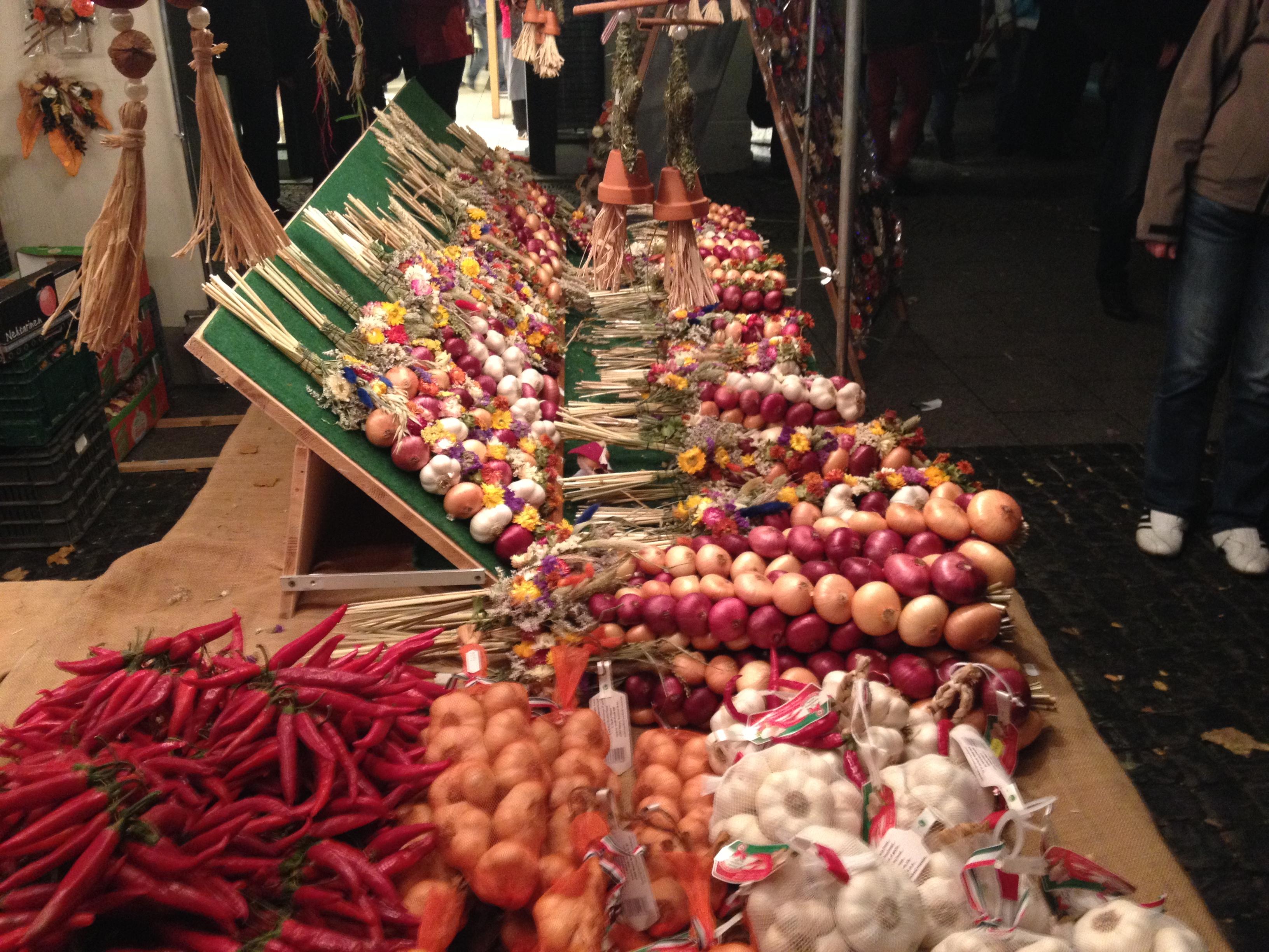 Andere Welt - der Zwiebelmarkt in Weimar