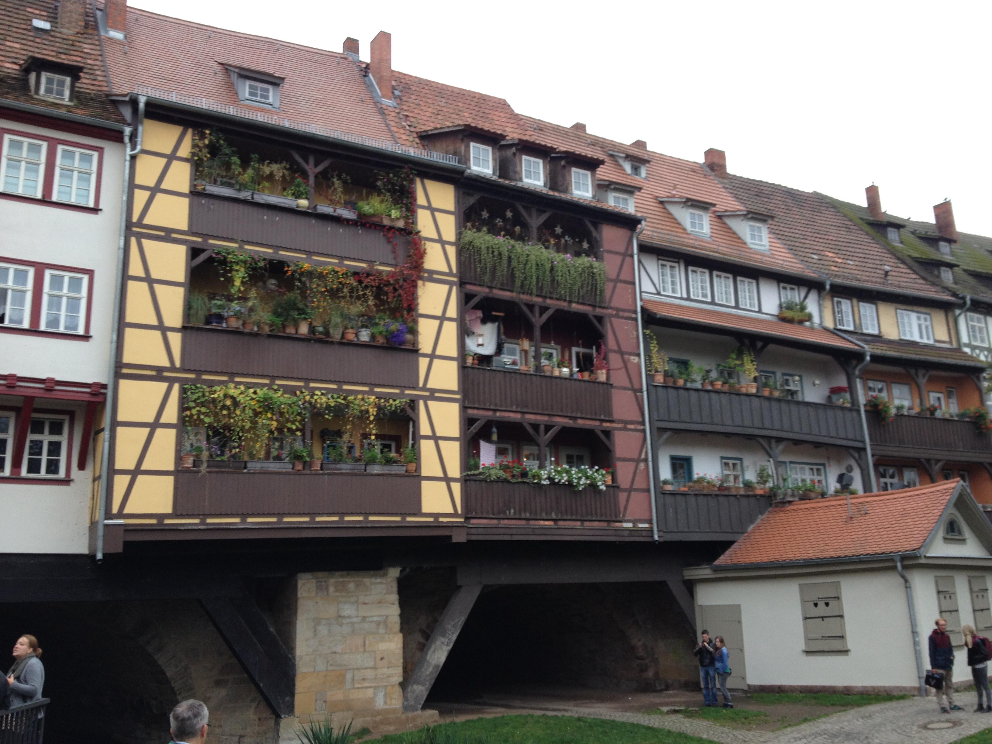 Brückenhäuser in Erfurt