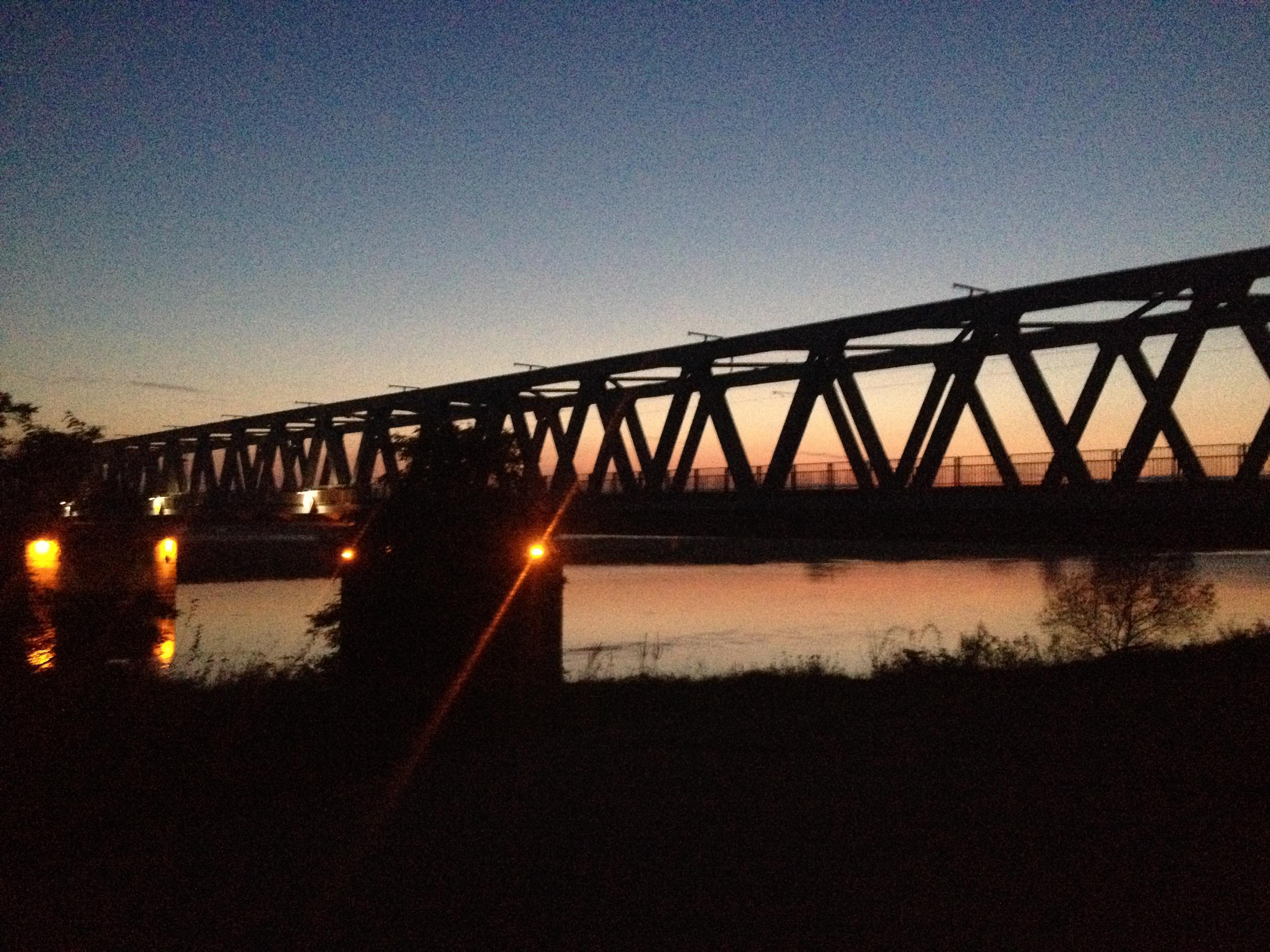 Die Brücke von Wittenberge