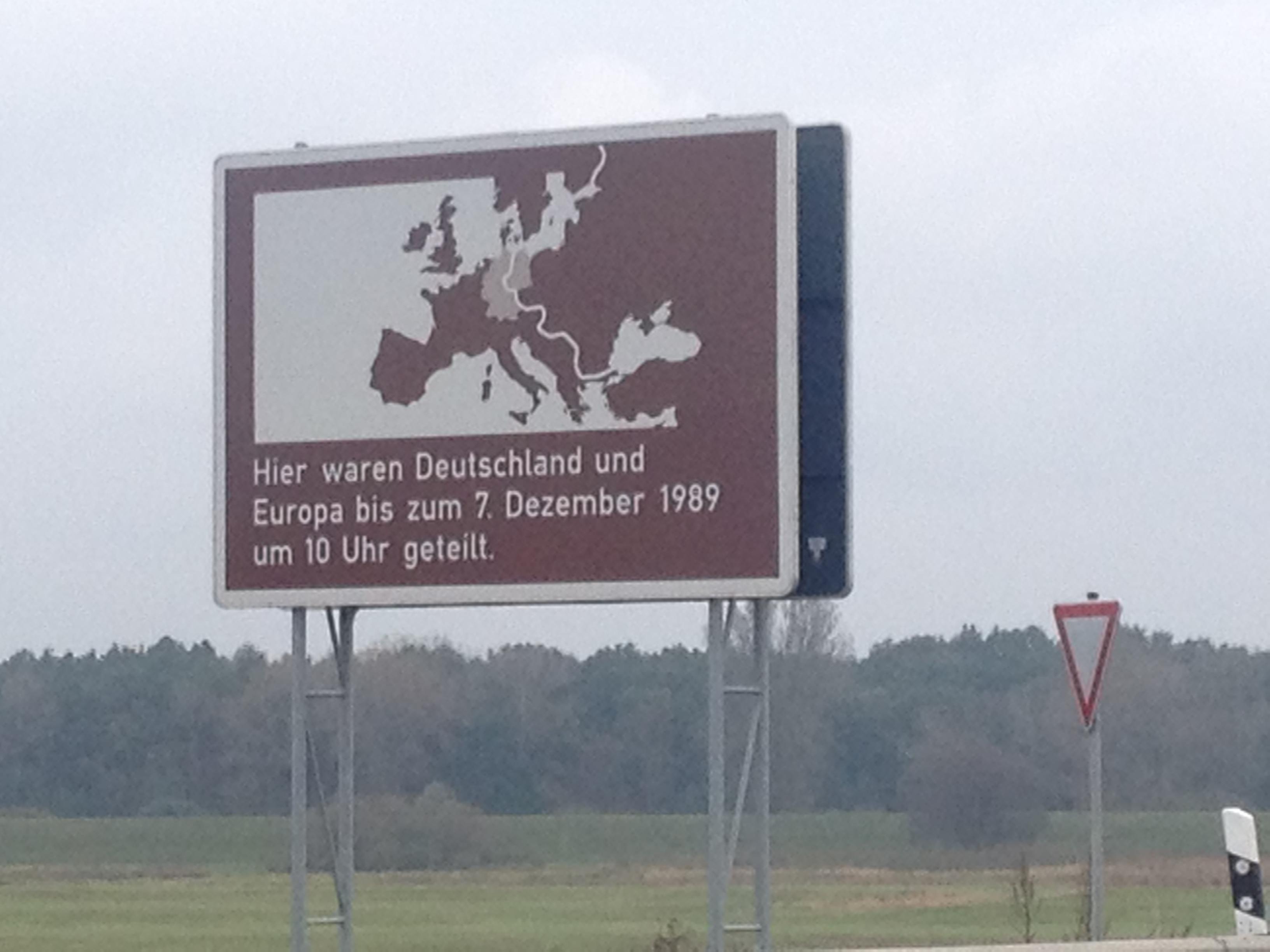 Hier ist die deutsch-deutsche Geschichte noch sichtbar