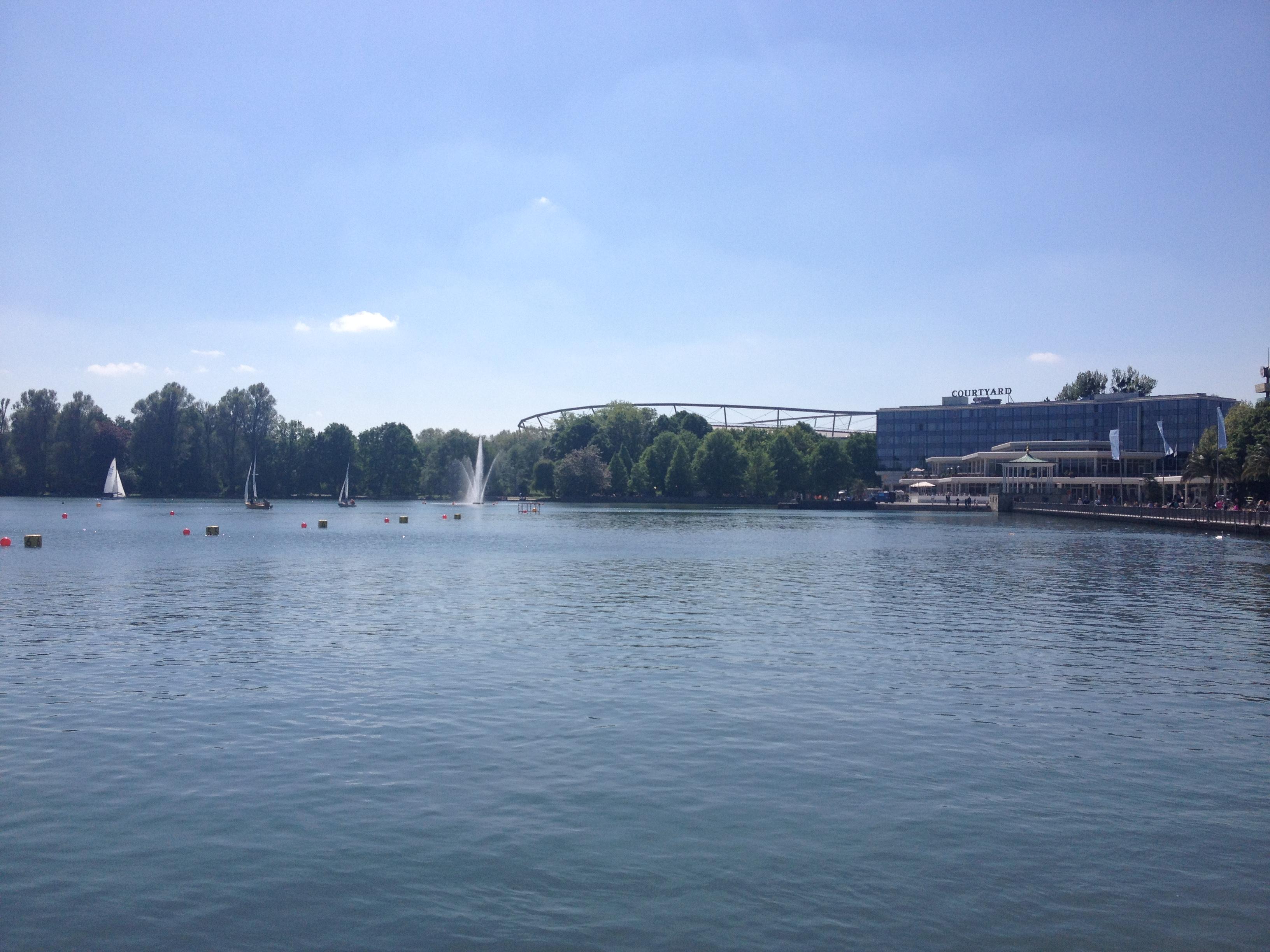 Hannover hat auch einen Stadtsee