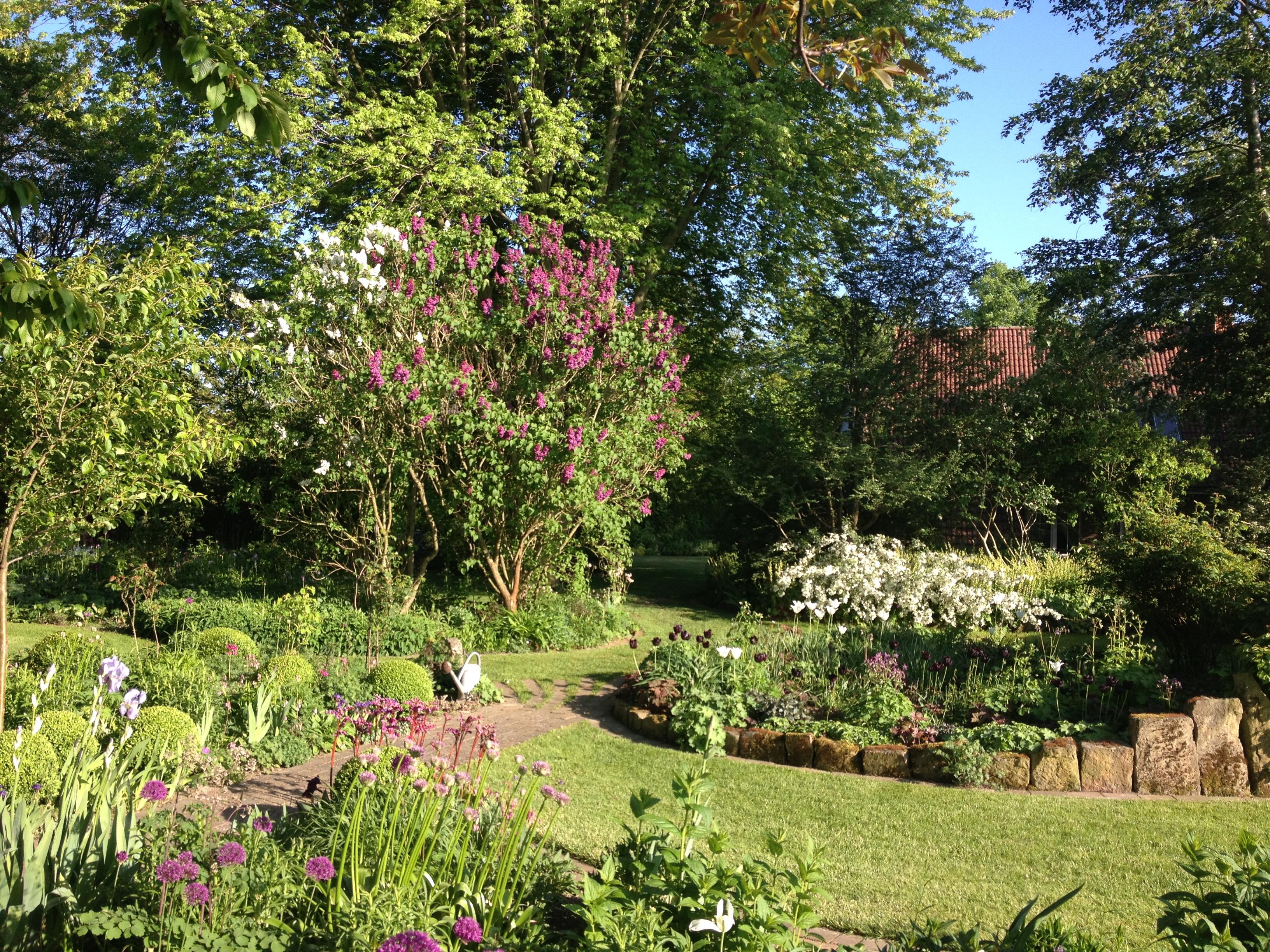 Ein Garten voller Poesie