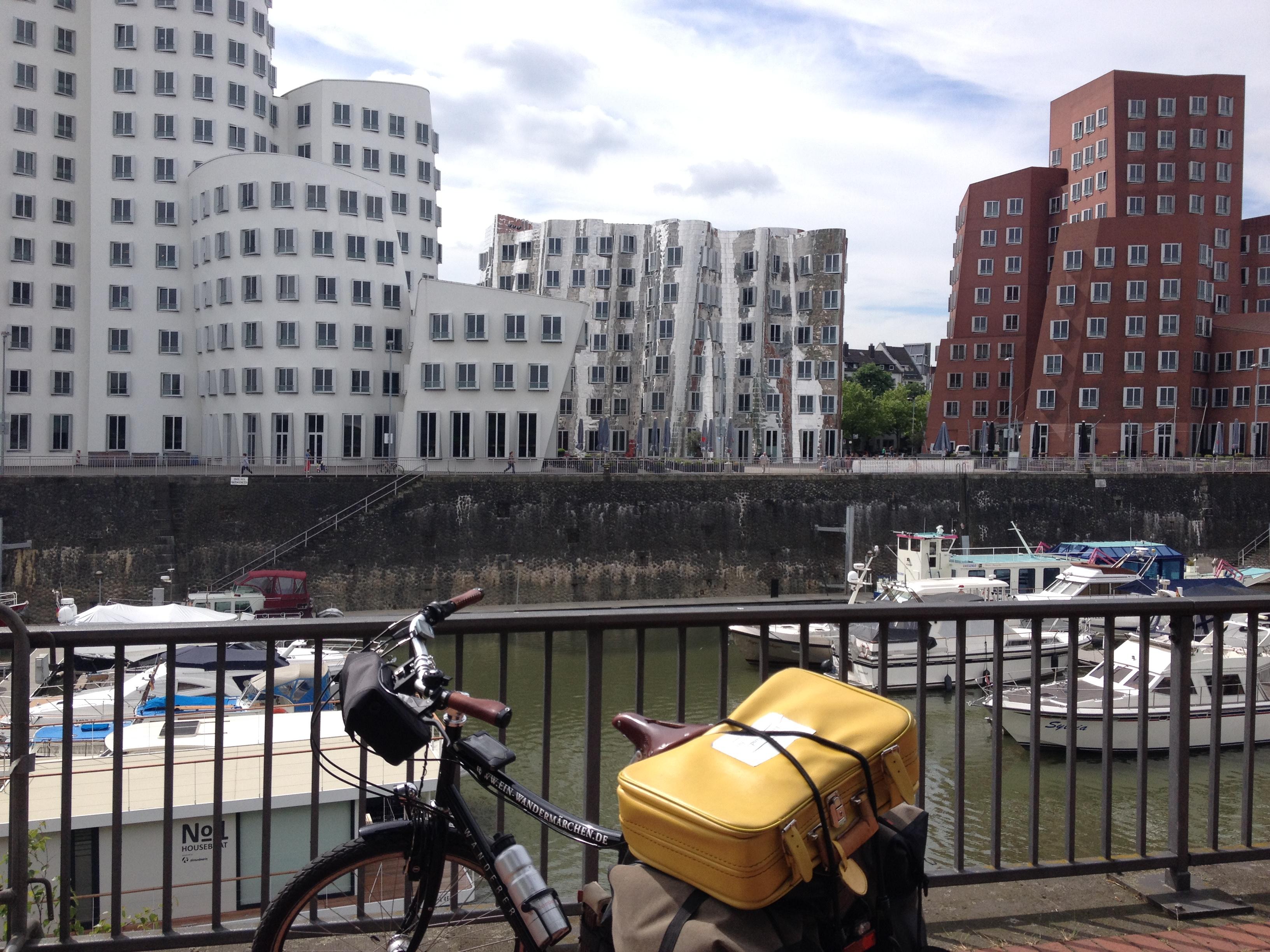 Der Medienhafen in Düsseldorf