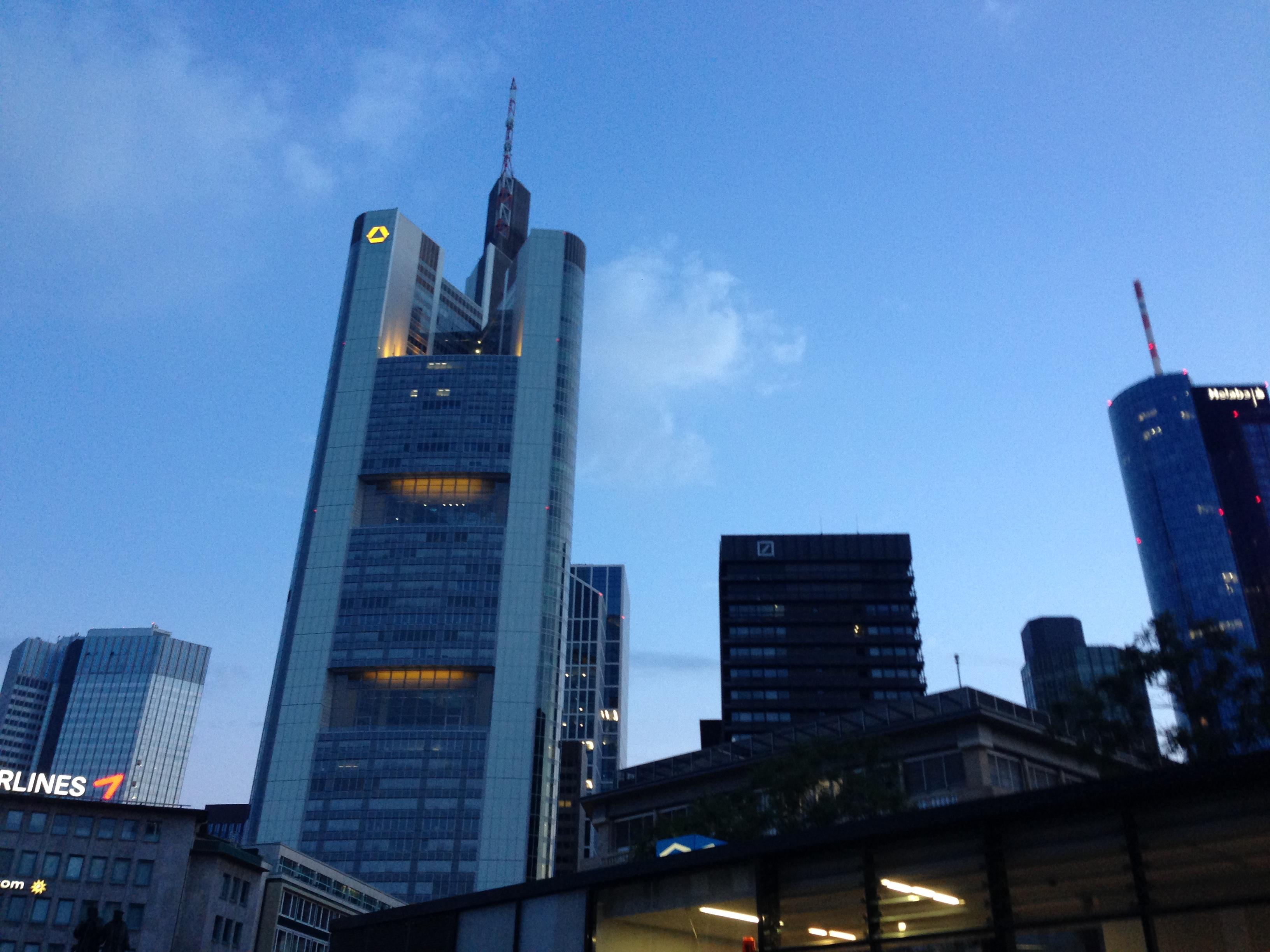 Los gehts in Frankfurt