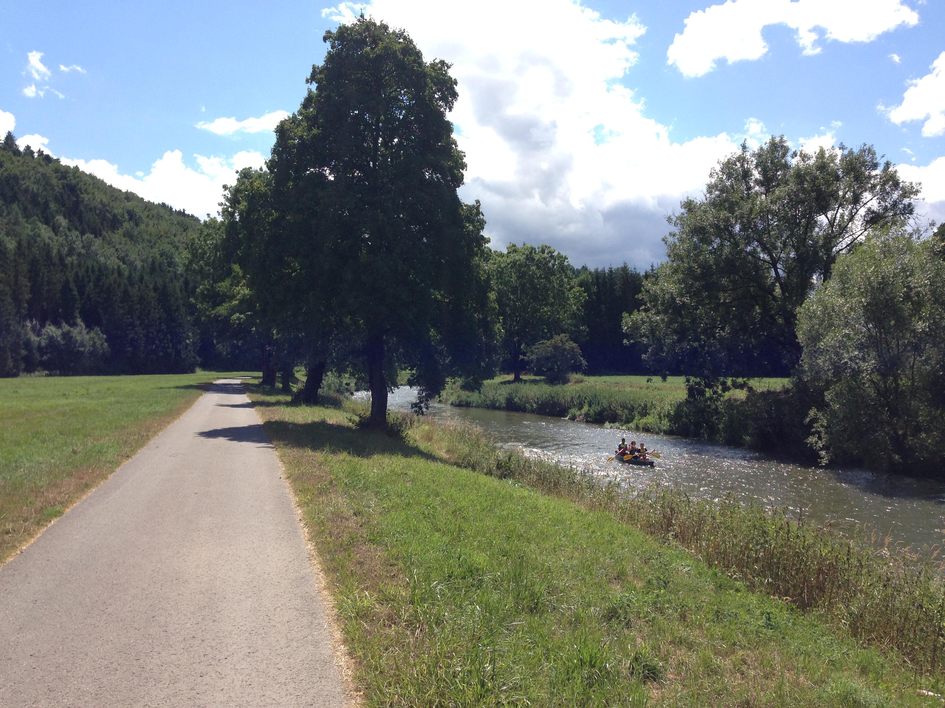 Entlang des Neckars