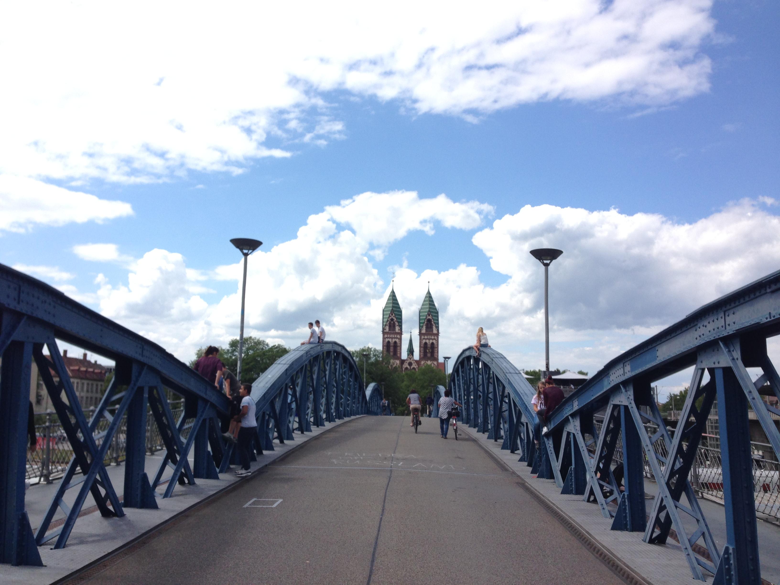 Freiburg - die Stadt der Fahrräder