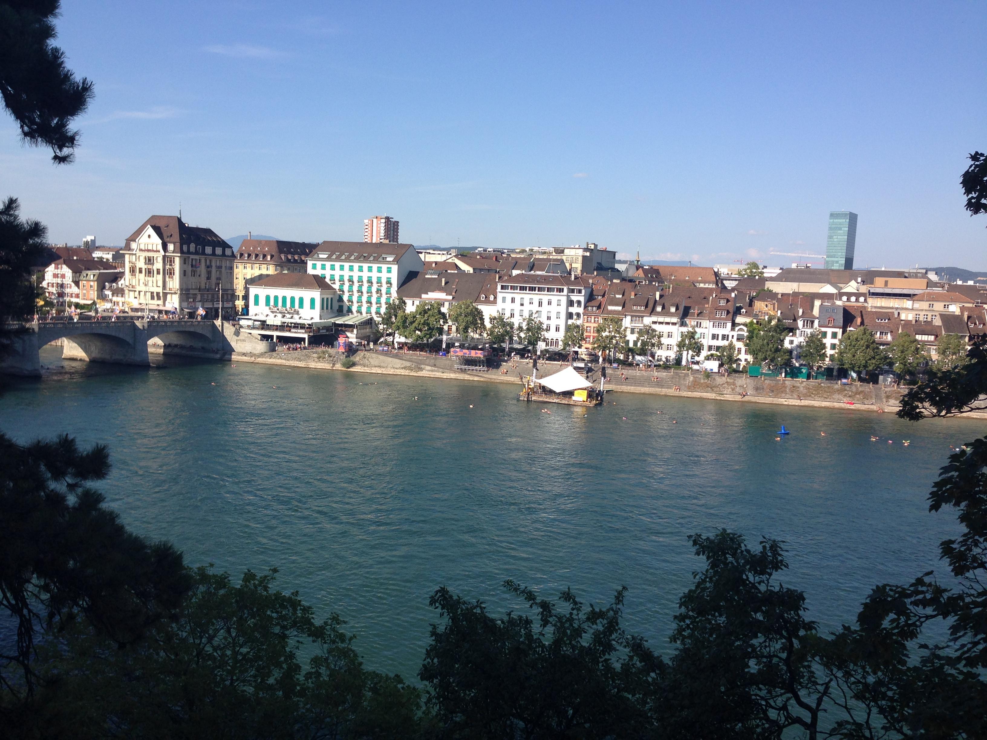 Das Dreiländereck macht Basel offen