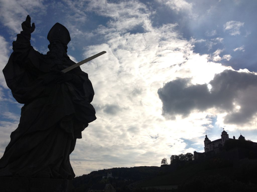 Würzburg hat prächtige Gestalten