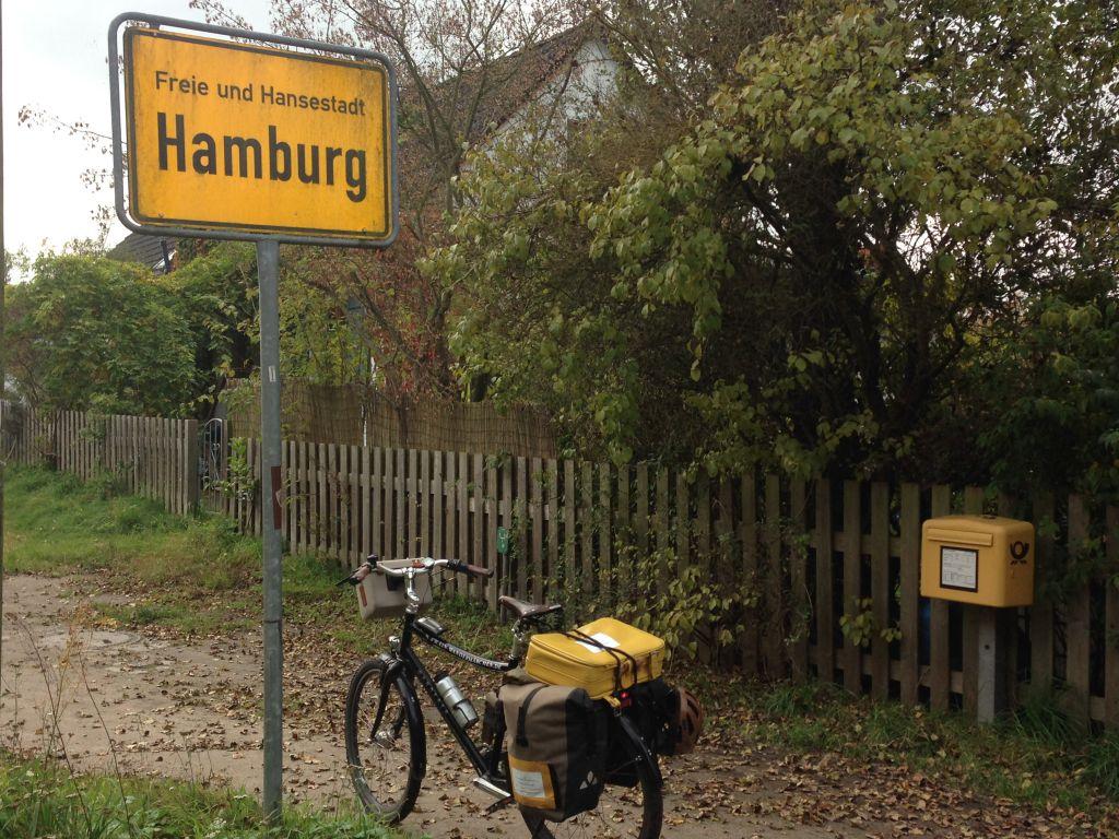 bis ich im Hoheitsgebiet Hamburg ankomme
