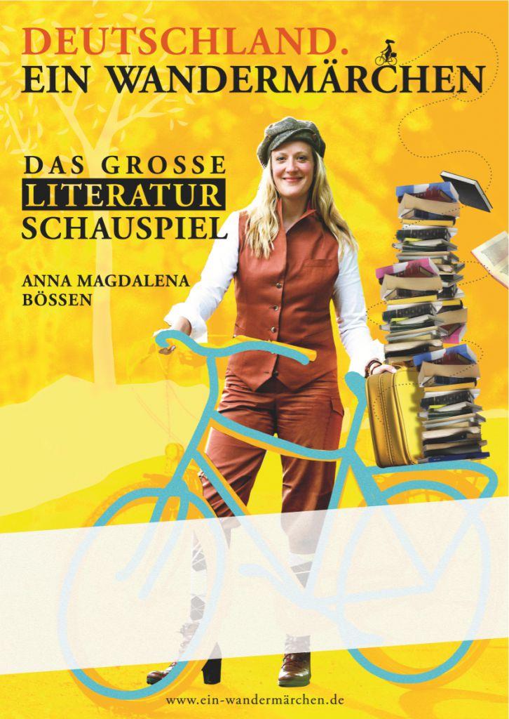 Und Anja hat auch das Plakat gestaltet.